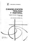 Evangelización, teología y pastoral