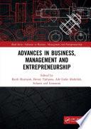 Advances in Business, Management and Entrepreneurship