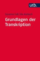 Grundlagen der Transkription