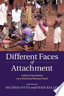 Different Faces Of Attachment Book