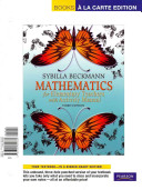 Mathematics for Elementary Teachers  Books a la Carte Edition with Activity Manual