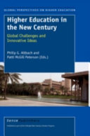Higher Education In The New Century
