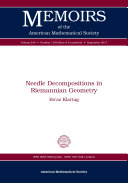 Needle Decompositions in Riemannian Geometry