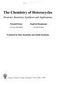 The Chemistry of Heterocycles Book