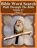 Bible Word Search Walk Through the Bible Volume 61