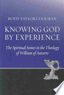 Knowing God by Experience