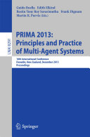 Pdf PRIMA 2013: Principles and Practice of Multi-Agent Systems