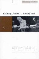 Reading Derrida/thinking Paul