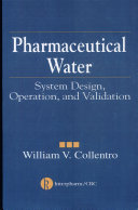 Pharmaceutical Water Book