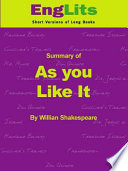 Englits As You Like It Pdf