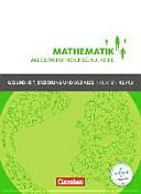 Mathematik Klasse 12/13. Schülerbuch Allgemeine Hochschulreife - Gesundheit, Erziehung und Soziales