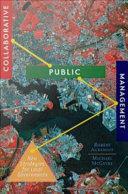 Collaborative Public Management