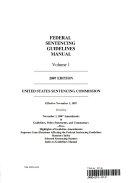 Federal Sentencing Guidelines Manual 2007