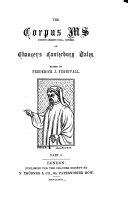Pdf The Corpus ms (Corpus Christi coll., Oxford) of Chaucer's Canterbury tales