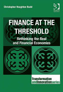 Finance at the Threshold