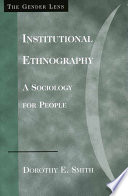 Institutional Ethnography