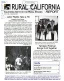 Rural California Report