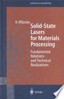 Solid-State Lasers for Materials Processing