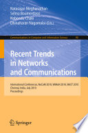 Recent Trends in Networks and Communications Book
