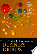 The Oxford Handbook Of Business Groups Book PDF