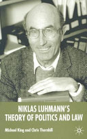 Niklas Luhmann s Theory of Politics and Law