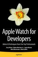 Apple Watch for Developers [Pdf/ePub] eBook
