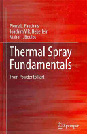 Thermal Spray Fundamentals Book