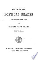 Chambers s poetical reader