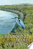 Handbook For Restoring Tidal Wetlands Book PDF