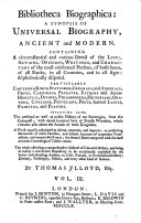 Bibliotheca Biographica
