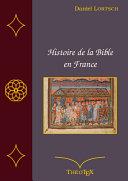 Pdf Histoire de la Bible en France Telecharger