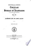 Circular of the Bureau of Standards