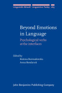 Beyond Emotions in Language