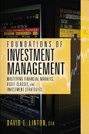 Foundations of Investment Management
