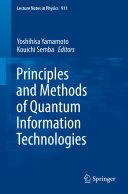 Principles and Methods of Quantum Information Technologies Pdf/ePub eBook