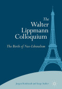 Pdf The Walter Lippmann Colloquium Telecharger