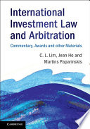 International Investment Law and Arbitration Pdf/ePub eBook