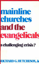 Mainline Churches and the Evangelicals Book