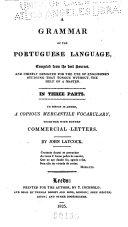 A Grammar of the Portuguese Language ebook