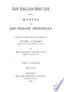 New England Bird Life: Oscines