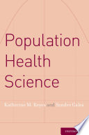 Population Health Science Book