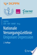 S3-Leitlinie/Nationale VersorgungsLeitlinie Unipolare Depression