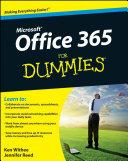 Office 365 For Dummies - Seite vi