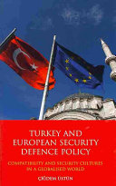 Turkey and European Security Defence Policy