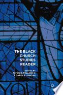 The Black Church Studies Reader Book