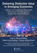 Delivering Distinctive Value in Emerging Economies