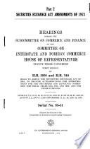 Securities Exchange Act Amendments of 1973