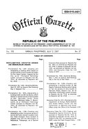 Official Gazette Book