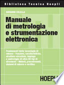 Manuale di metrologia e strumentazione elettronica