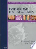 Psoriatic and Reactive Arthritis Book